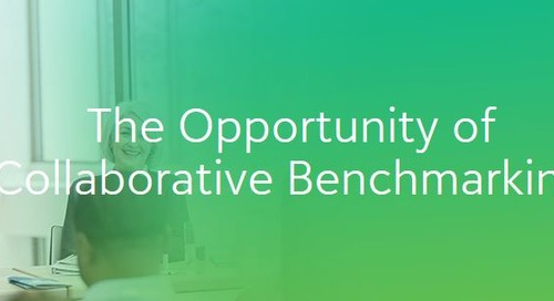 The Opportunity of Collaborative Benchmarking