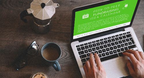 Your Peer-to-Peer Fundraising Idea Calendar has arrived!