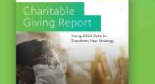 2020 Charitable Giving Report