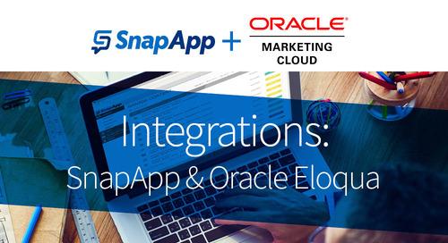 Integrations: SnapApp & Oracle Eloqua