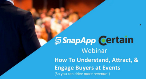 Webinar: How to Understand, Attract, and Engage Buyers at Events
