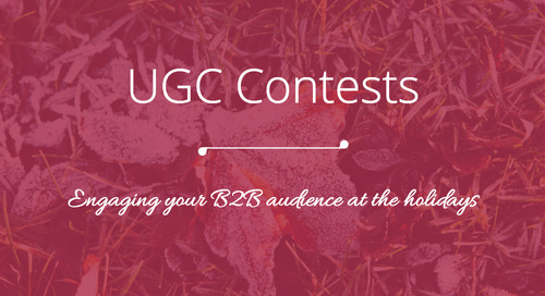 3 Ways to Use a Contest in a B2B Holiday Marketing Campaign