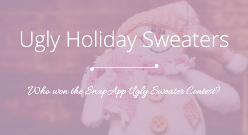 [2015 SnapApp Holiday Contest] The Ugliest Sweater Award Goes To…