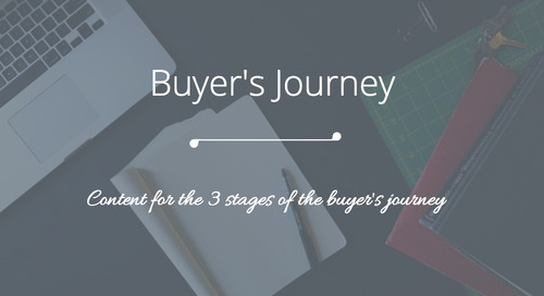 Planning Your Content: The 3 Stages of the Buyer's Journey