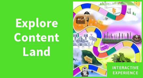 Content Land: An Interactive Quest [Interactive Infographic]
