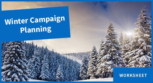 Worksheet: Plan a Winter Marketing Campaign