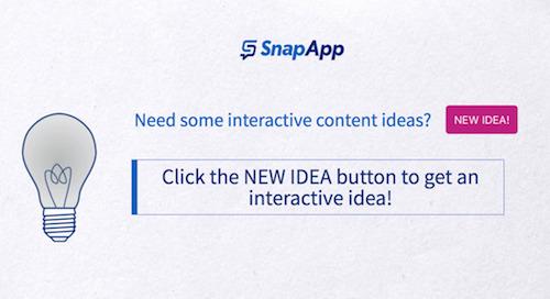 Interactive Content Idea Generator