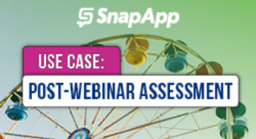 How SnapApp Engaged Registrants With a Post-Webinar Assessment