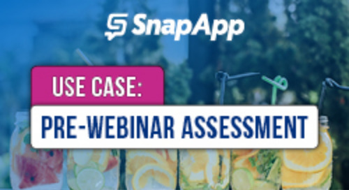 How SnapApp Let Registrants Set Agendas With a Pre-Webinar Assessment