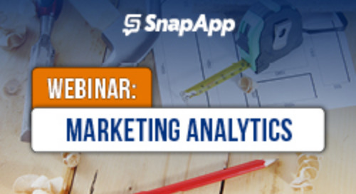 SnapApp Marketing Analytics