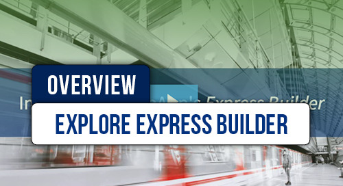 Express Builder Video Overview