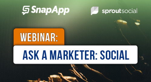 Ask A Marketer - The Social Media Edition