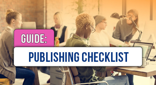 Checklist for Publishing