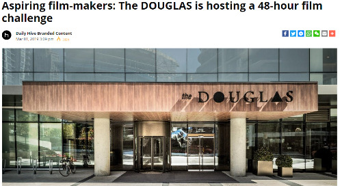 Aspiring film-makers: The DOUGLAS is hosting a 48-hour film  challenge