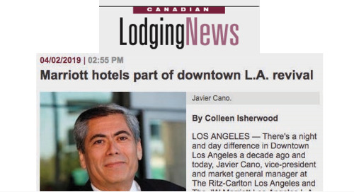 Marriott hotels part of downtown L.A. renaissance