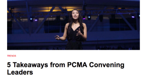 5 Takeaways from PCMA Convening Leaders
