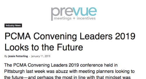 PCMA Convening Leaders 2019 Looks to the Future