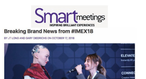Breaking Destination News from #IMEX18