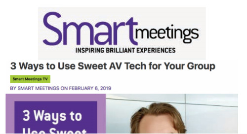 3 Ways to Use Sweet AV Tech for Your Group