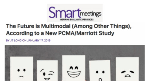 The Future is Multimodal (Among Other Things), According to a New PCMA/Marriott Study