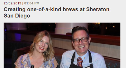 Creating one-of-a-kind brews at Sheraton San Diego