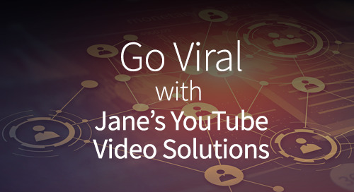 How to make your marketing message go viral with Jane's video solutions