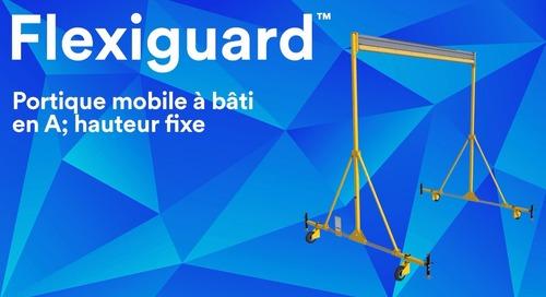 Flexiguard Portique mobile à bâti en A; hauteur fixe