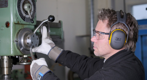 Applied to moderate-to-high industrial noises, lightweight 3M™ X-Series Earmuffs are the perfect match. #PPE #Safety