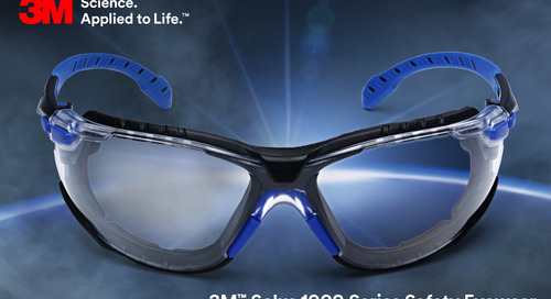 See clearly, longer. #solus #PPE