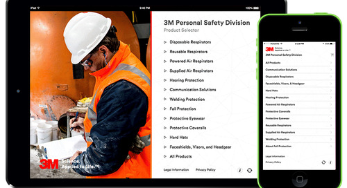 Sort. Select. Share. The 3M™ Safety App for iPhone®