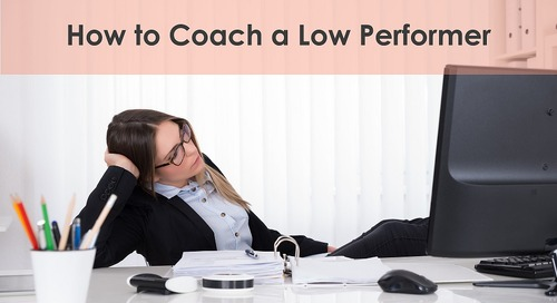 Five Ways to Keep Your Low Performers Enagaged