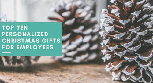 Top Ten Personalized Christmas Gifts for Employees