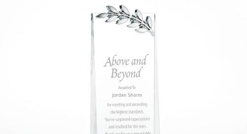 Crystalline Tower Trophy - Laurels