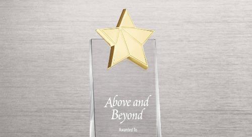 Crystalline Tower - Gold Star