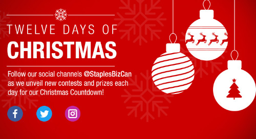 12 Day of Christmas Winners Announced
