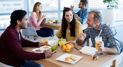 Quatre façons dont les employeurs peuvent soutenir une alimentation saine au travail