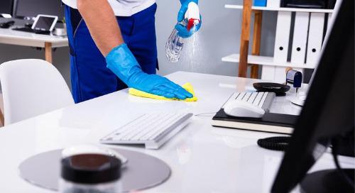 Une liste de base des protocoles de nettoyage pour votre bureau