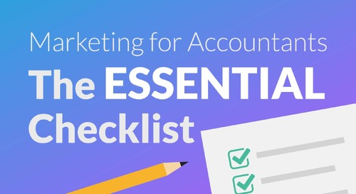 The Essential Marketing Checklist for Accountants & Bookkeepers