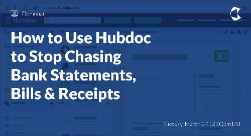 How to Use Hubdoc to Stop Chasing Bank Statements, Bills & Receipts