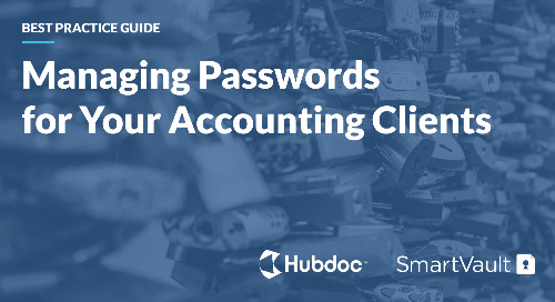 Best Practice Guide: Managing Passwords for Your Accounting Clients