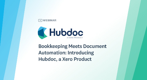 Bookkeeping Meets Document Automation