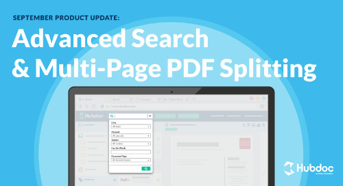 September Product Update: Advanced Search & Multi-Page PDF Splitting