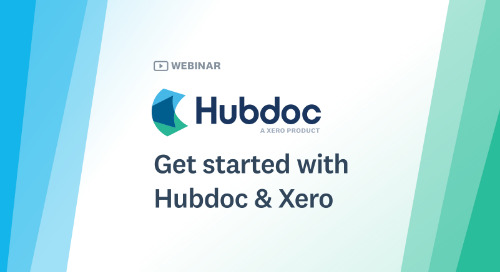 Get Started with Hubdoc & Xero