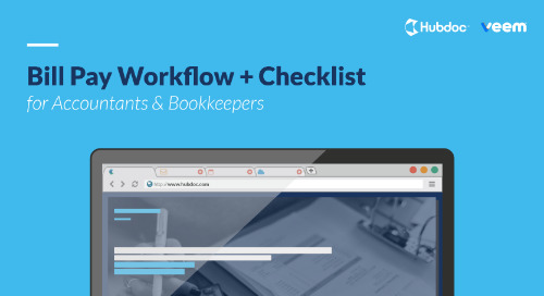 Bill Pay Workflow + Checklist