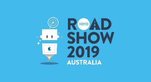 On the Road Again: Xero Roadshow Australia 2019