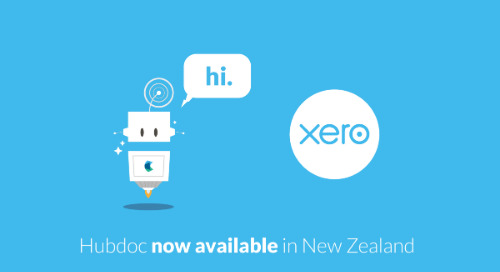 Hubdoc is Now Available in New Zealand!
