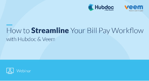 How to Streamline Your Bill Pay Workflow with Hubdoc & Veem