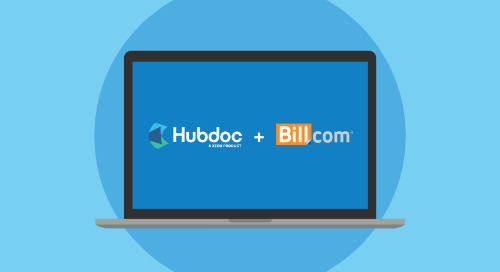 Connect Hubdoc and Bill.com for a Seamless Bill Pay Workflow