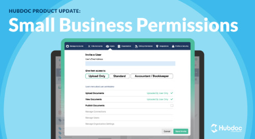 Introducing Small Business Permissions in Hubdoc