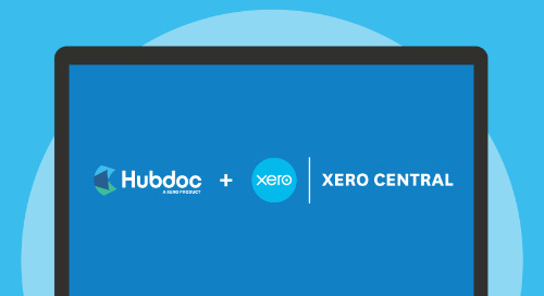 Hubdoc Support is Now Available in Xero Central